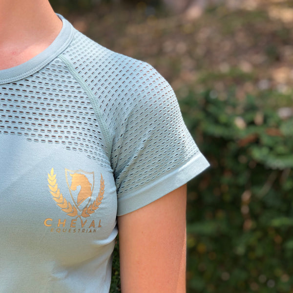 Everyday Sport Mesh Top - Cheval Equestrian