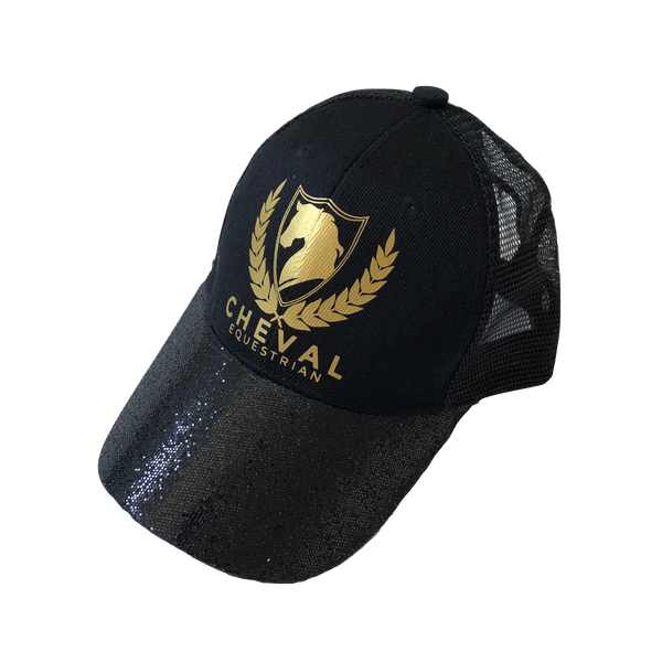 Sparkle English Logo Caps - Cheval Equestrian