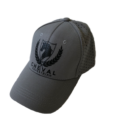 Mesh Back Large English Logo Caps - Cheval Equestrian
