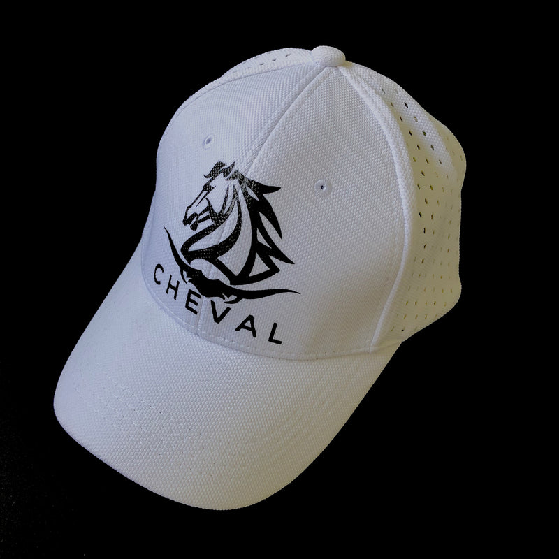 Mesh Back Large Western Logo Caps - Cheval Equestrian