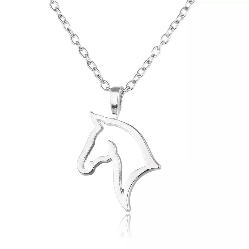 Horse Head Necklace - Cheval Equestrian