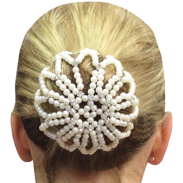 Beaded hair Bun Cover - Cheval Equestrian