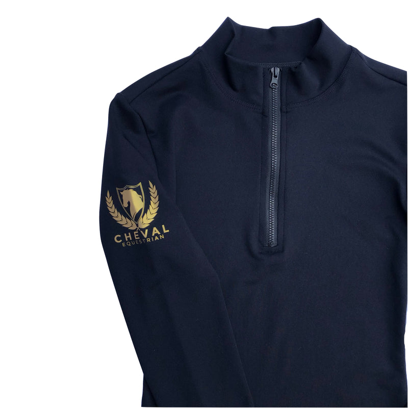 Long Sleeve Zip Compression Baselayer - Cheval Equestrian