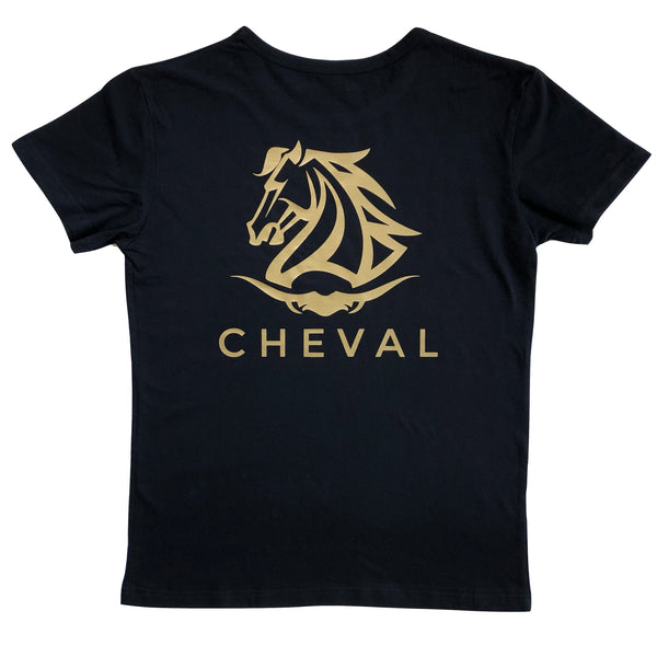Casual Western Logo Tee - Cheval Equestrian