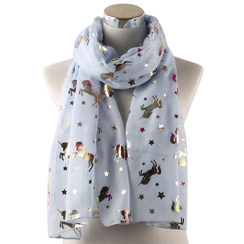 Shimmer Unicorn Star Scarf - Cheval Equestrian