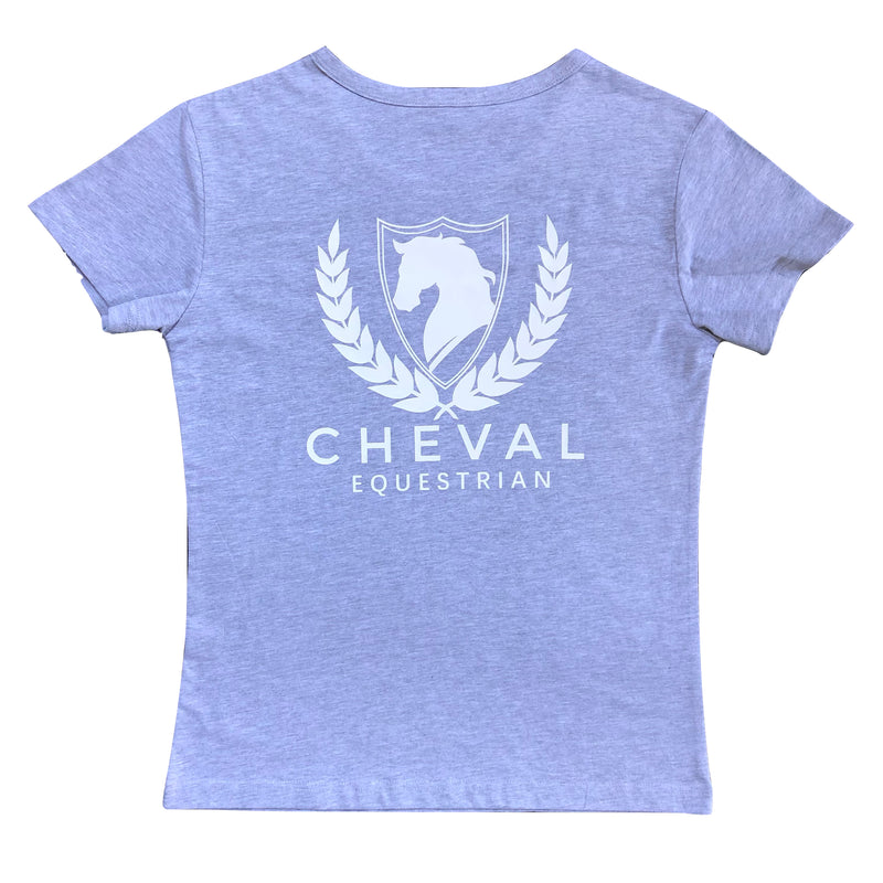 Casual English Logo Tee - Cheval Equestrian