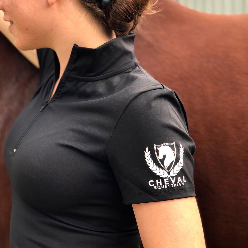 Dry Fit Short Sleeve Sport Top - Cheval Equestrian