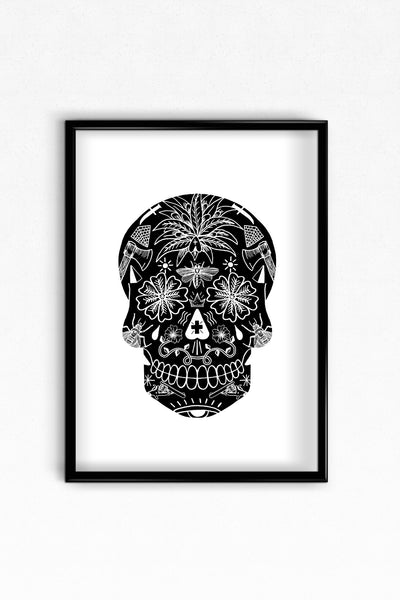 Black Tattoo Skull