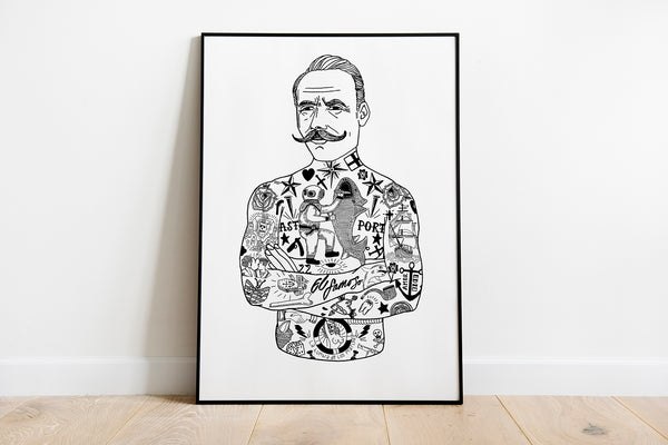 The Gentleman Art Print