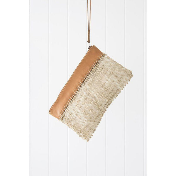 saba clutch white background