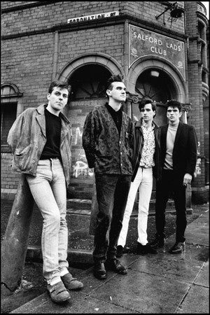 Stephen Wright - The Smiths - Salford Lads Club 1985 (alternative to 'The Queen is Dead' cover)