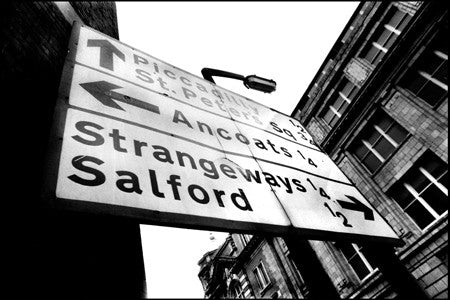 Stephen Wright - Strangeways Road Sign - Manchester 1987
