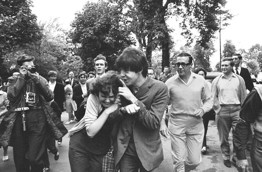 Macca & Fan #1, 1964 - John 'Hoppy' Hopkins (signed)