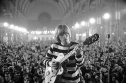 Brian Jones, c. 1964 Alexandra Palace - John 'Hoppy' Hopkins (signed)