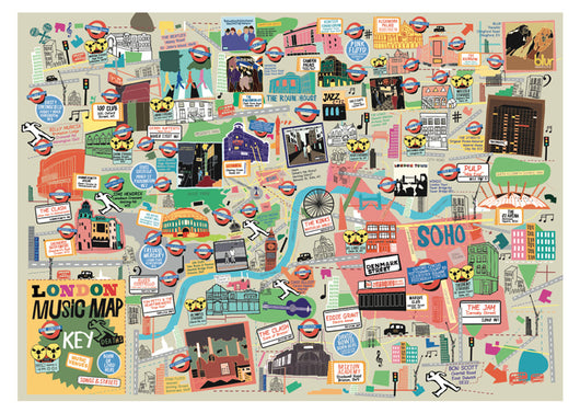 London Music Map - Nick Faber, RUDE