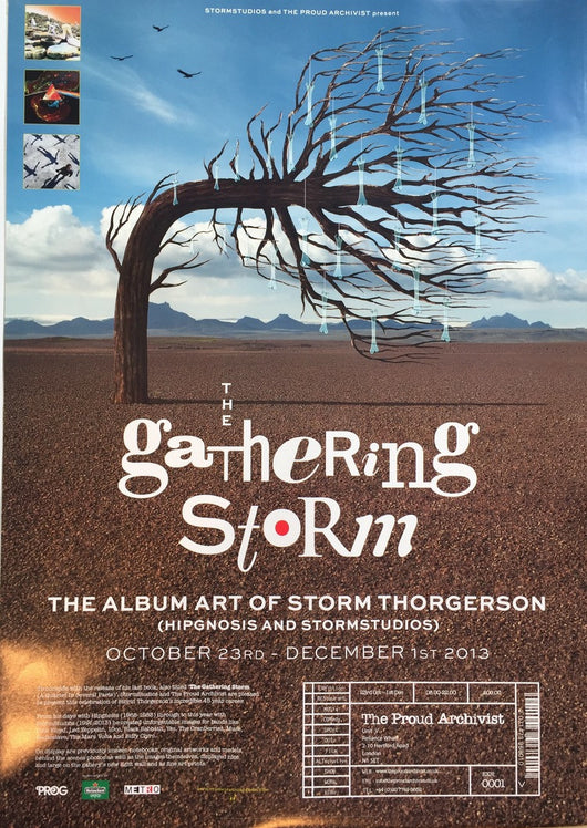 Gathering Storm Exhibition Poster