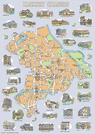 Hackney Changes (map)- Jane Smith