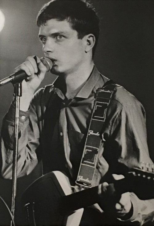 Ian Curtis - Philippe Carly (Signed by the photographer)