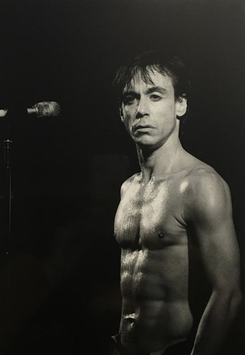 Iggy Pop - Philippe Carly (Signed by the photographer)