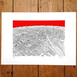 Arsenal, North London - Will Clarke (signed by the artist)