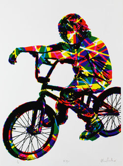 Oli Fowler - Biker (Signed by the artist)