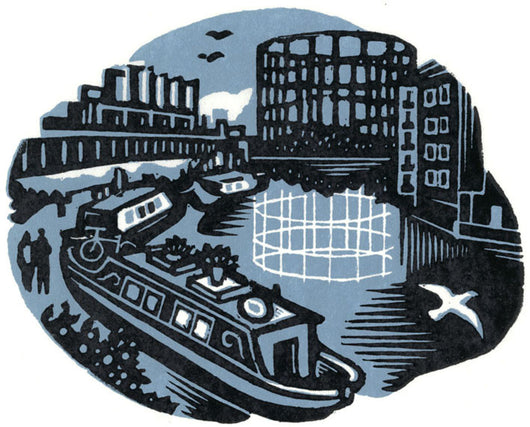 Regents Canal from Broadway Market - Jane Smith