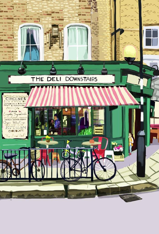 The Deli Downstairs, Victoria Park  - tomARTacus
