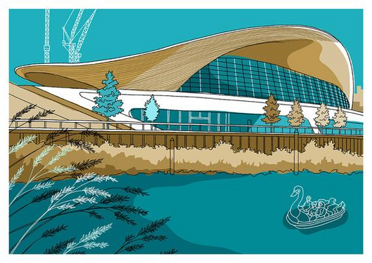Aquatics Centre, Olympic Park - Jane Smith