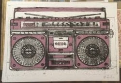 Boombox - Oli Fowler (Signed by the artist)