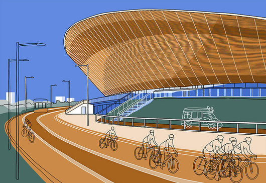 Lea Valley Velodrome - Jane Smith