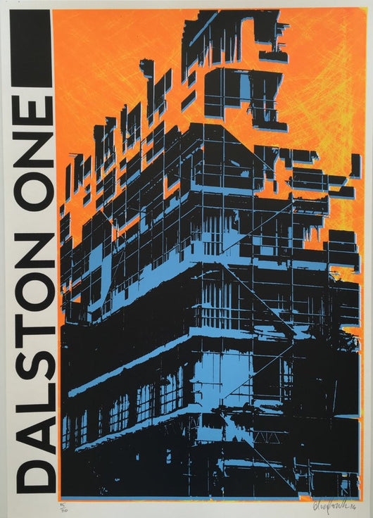 Dalston One - Oli Fowler (Signed by the artist)