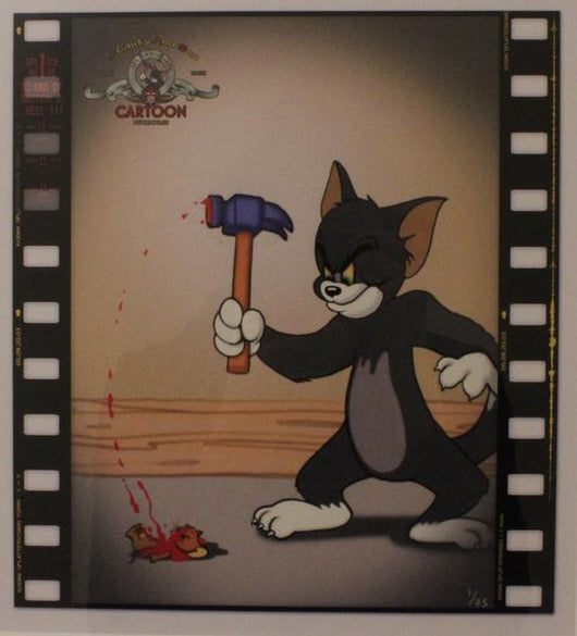'Splatter' (Framed) Tom Kills Jerry - James Cauty & Harry Cauty