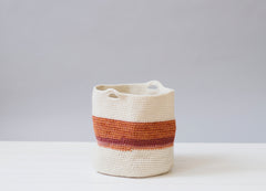 Crochet Baskets for the Home