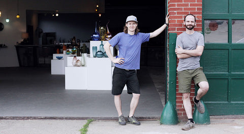 Billy and Geoff of Lexington Glassworks