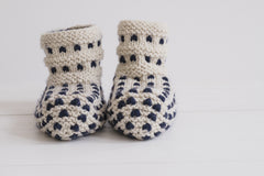 Cloud Slipper Knit Kit, Thrumming Technique