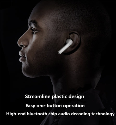 HBQ i7 R/L Wireless Single Ear Mini Bluetooth 4.1 Headset Stereo Music Earphone Right or Left - ISaleuk