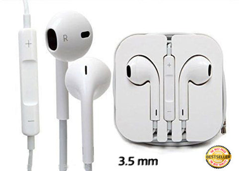 Earphones Headphones 3.5mm with MIC for iPhone, SmartPhone Tablet Laptop Pc etc - ISaleuk