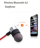 Ipipoo 92BL Smart Magnatic Wireless Bluetooth 4.1 Sports Stereo Earphone Noise Reduction - ISaleuk