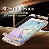 Samsung Galaxy S6 Edge 9H Full Cover 3D Tempered Glass Screen Protector 0.2mm - ISaleuk