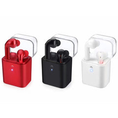 Fun 7 Wireless Bluetooth Headset Earphones Ear Pods Charging Case, In-Ear Headphone - ISaleuk