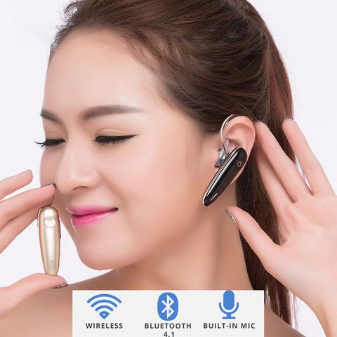 Wireless Bluetooth 4.1 Handsfree Headset Stereo Headphones For iPhone Samsung new 2017 - ISaleuk