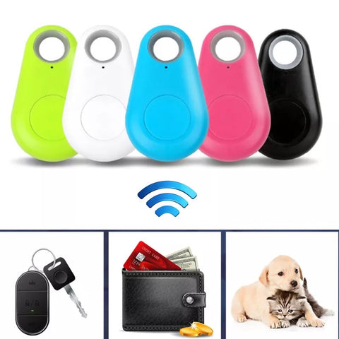 Anti-lost Alarm Smart Tag Wireless Bluetooth Tracker Child Bag Wallet Key Finder - ISaleuk