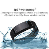 Bluetooth Smart Watch Heart Rate Blood Pressure Monitor Fitness Tracker Bracelet - ISaleuk
