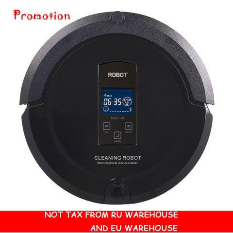 Robot vacuum cleaner auto sweep,LCD Touch Screen - ISaleuk