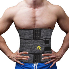 Men Waist Trainer Support Neoprene Sauna Suit - ISaleuk