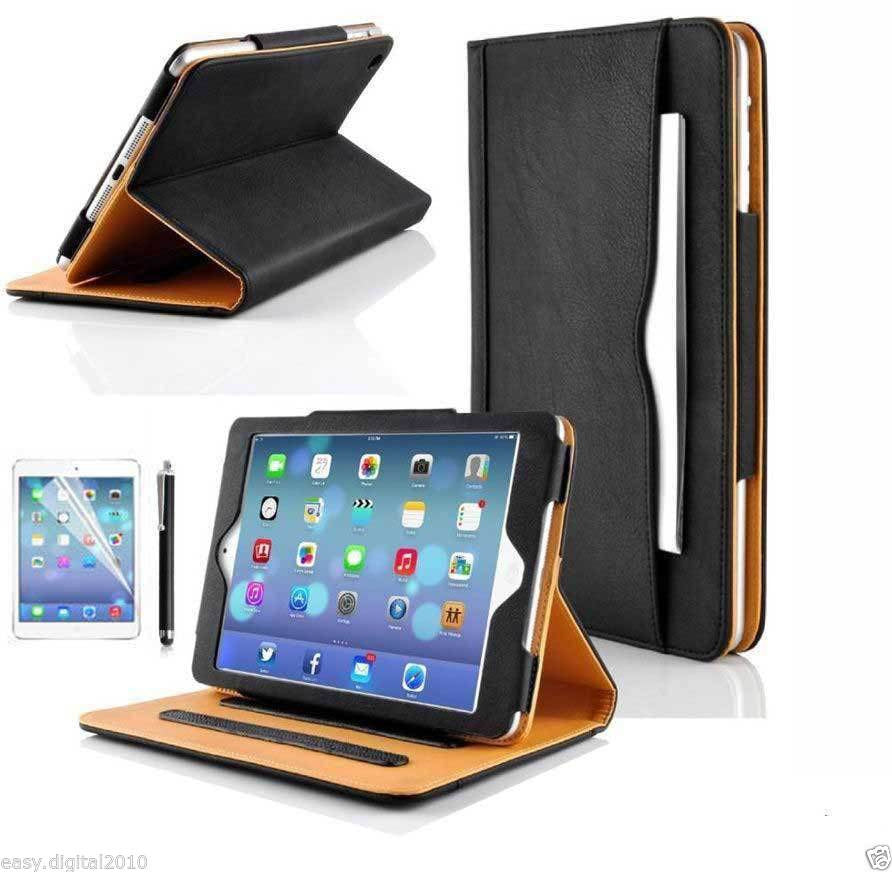 Luxury Magnetic Leather Wallet Smart Flip Case Cover For Apple iPad Air 2 - ISaleuk