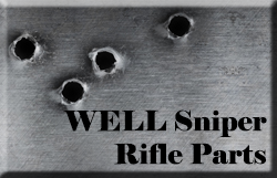 WELL Sniper Rifle Parts
