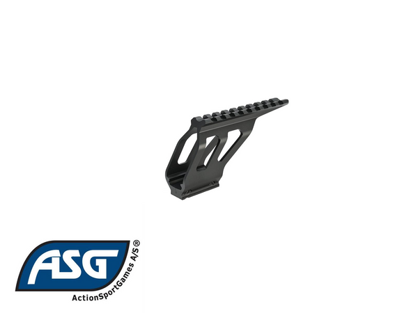 SP-01 SHADOW cnc rail mount, black
