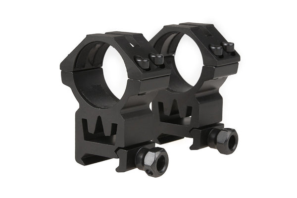 Two-part 30mm sight mount for RIS rail