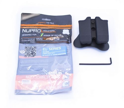 Nuprol G17 Double Mag Pouch